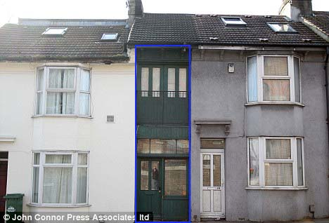 Narrowest house in UK