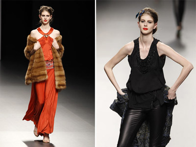 Dignified and graceful: Jesus Lorenzo's collection at Madrid Fashion Week