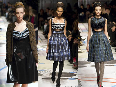 Milan Fashion Week: Prada Fall/Winter 2010/11 women's collection