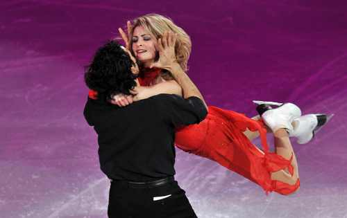 Dancing with passion on ice