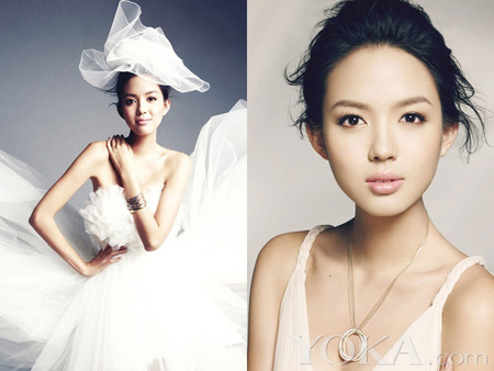 Former Miss World Zhang Zilin graces COSMO Bride Feb issue