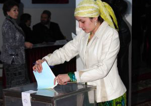 Tajikistan Lower House election starts