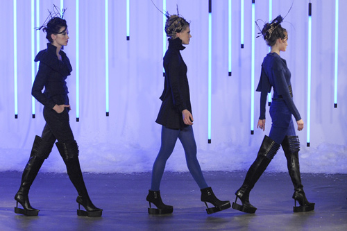 Fatima Lopes' collection at Paris Fashion Week