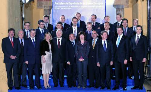 EU foreign ministers gather in Spain