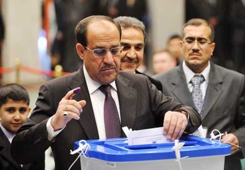 Will pivotal election bring peace to Iraq?