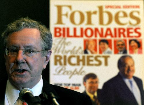 """Forbes"" releases billionaires list 2010"