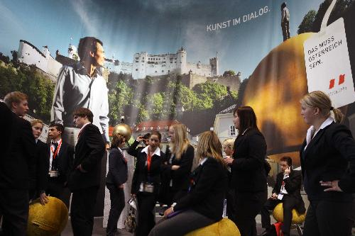 Snapshots from Int'l Tourism Bourse in Berlin