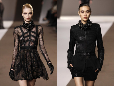 Elie Saab Fall/Winter 2010/11 women's ready-to-wear fashion show