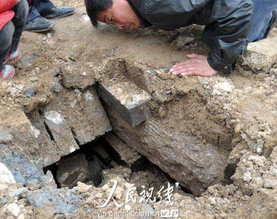 Photos: Ming Dynasty tombs discovered in Anhui