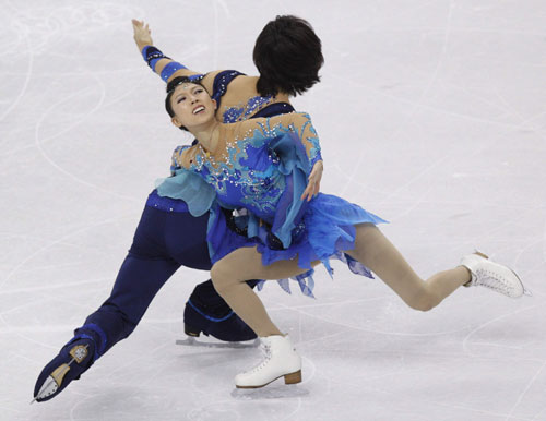 China's Pang/Tong at World Figure Skating Championships