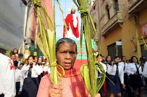 Holy Week begins in Honduras