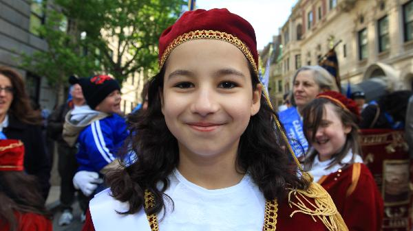 greek americans attend greek independence day parade in new york 6