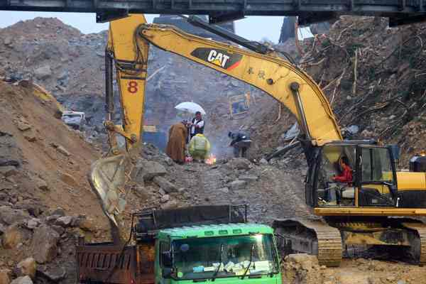 Four bodies found at Taiwan landslide site