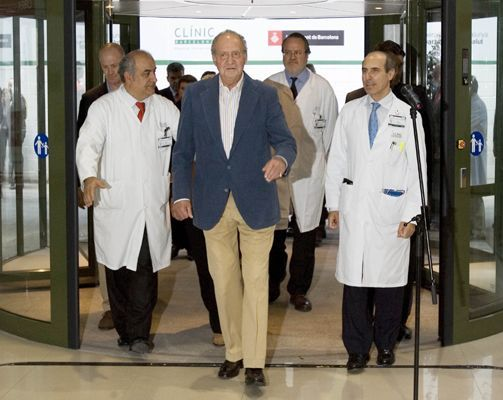 Spanish king leaves hospital after recovery