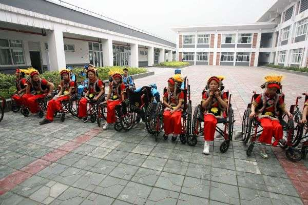 Handicapped students' life two years after Sichuan earthquake