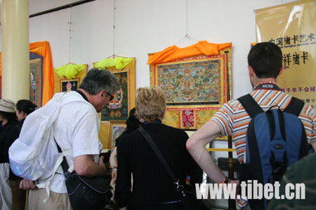 Thangka exhibition held in Beijing to raise fund for quake zone