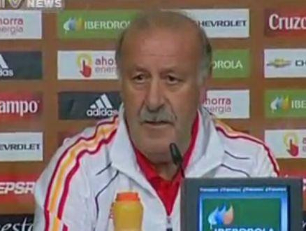 Spain Coach: We've done very well up to now