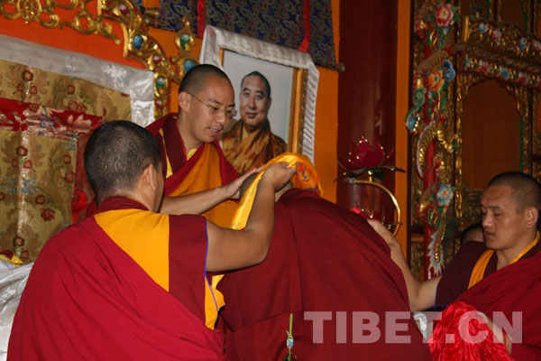 Eleven lamas conferred advanced degree of Tibetan Buddhism in Beijing