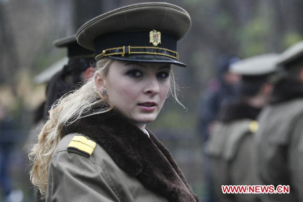 Image result for romanian military women