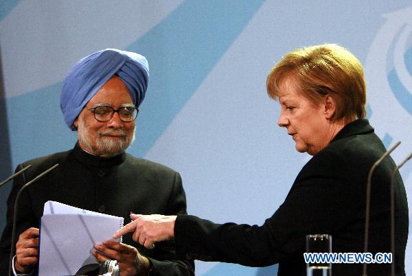 Germany, India vow to boost trade, cement ties