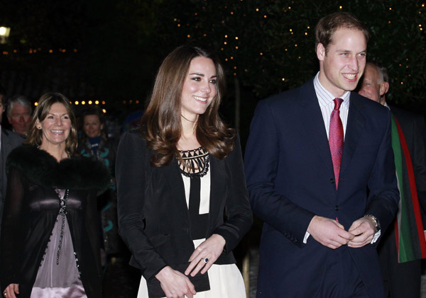 Prince William, Kate arrive at Thursford Collection