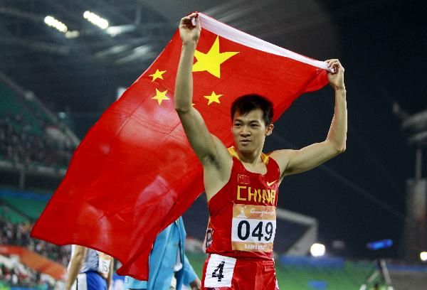 China's top 10 athletes in 2010