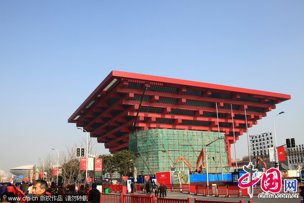 Reopened China Pavilion attracts waves of visitors
