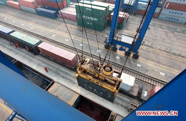 Throughput of Lianyungang Port in 2010 reaches 135 mln tonnes