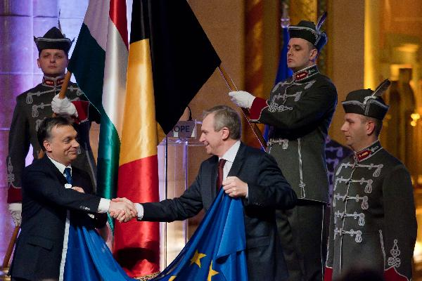 Hungary takes over EU presidency at official ceremony