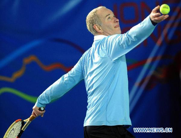 McEnroe beats Kafelnikov at Tennis Classic in HK