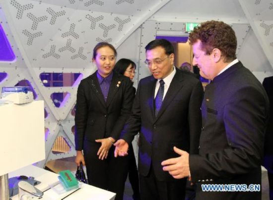 Chinese vice premier visits Deutsches Museum in Munich