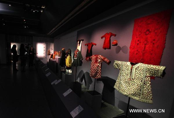 Asian children's clothing exhibition held in Paris