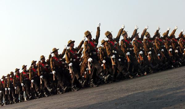India holds army day parade