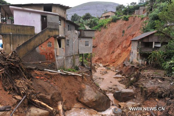 Floods, landslides kill 631 in Brazil
