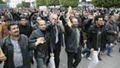 Thousands of Tunisians on street protesting interim gov't