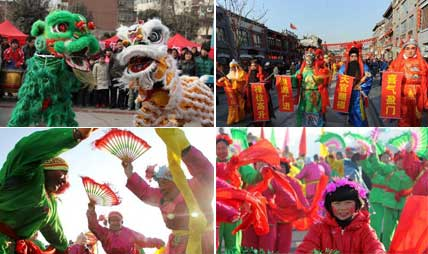 Various performances mark Minor New Year's Day in China