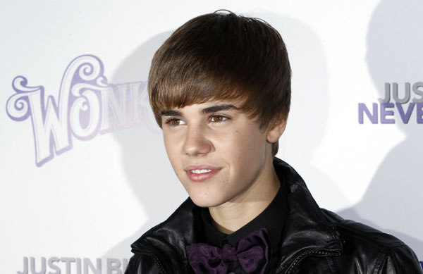 "Justin Bieber attends of 3D film ""Justin Bieber: Never Say Never "" in NY"