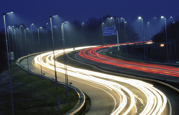 LED illuminates 7-km length of highway in Netherlands