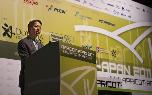 APRICOT-APAN 2011 opens in HK