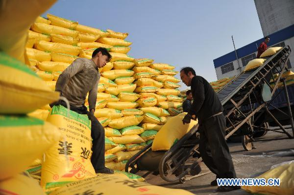 N China's Shanxi subsidizes farmers to fight aganist drought