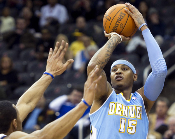 Carmelo Anthony traded to Knicks in blockbuster deal