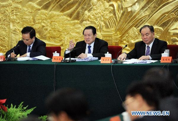 Senior Chinese leader stresses stability, public order