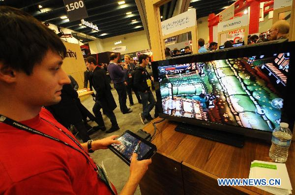 New games displayed in Game Developers Conference 2011
