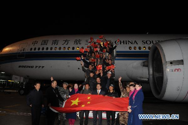 China concludes western-route evacuation in Libya
