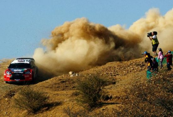 2nd stage of World Rally Championship held in Leon, Mexico