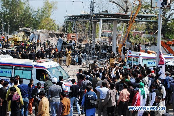 Taliban claims responsibility for suicide car blast in Pakistan