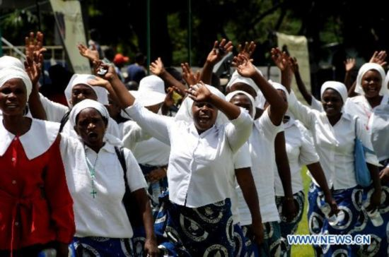 Zambians mark Int'l Women's Day