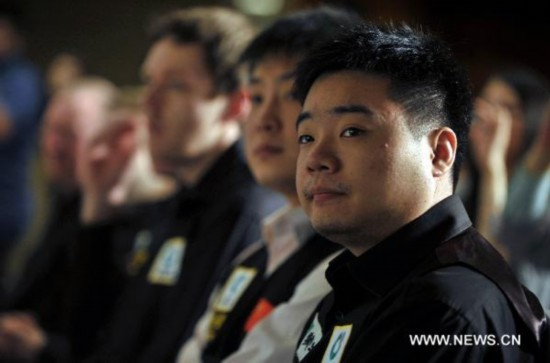 Higgins, Ding to play in China Snooker Classic
