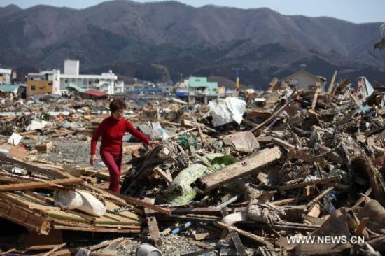 Situation in quake-hit Ofunato, Japan