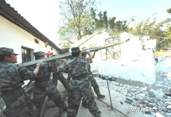 Rescue work continues in quake-hit Yunnan